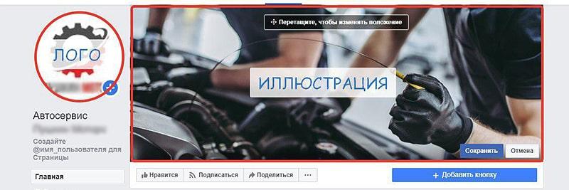 страницы фейсбук