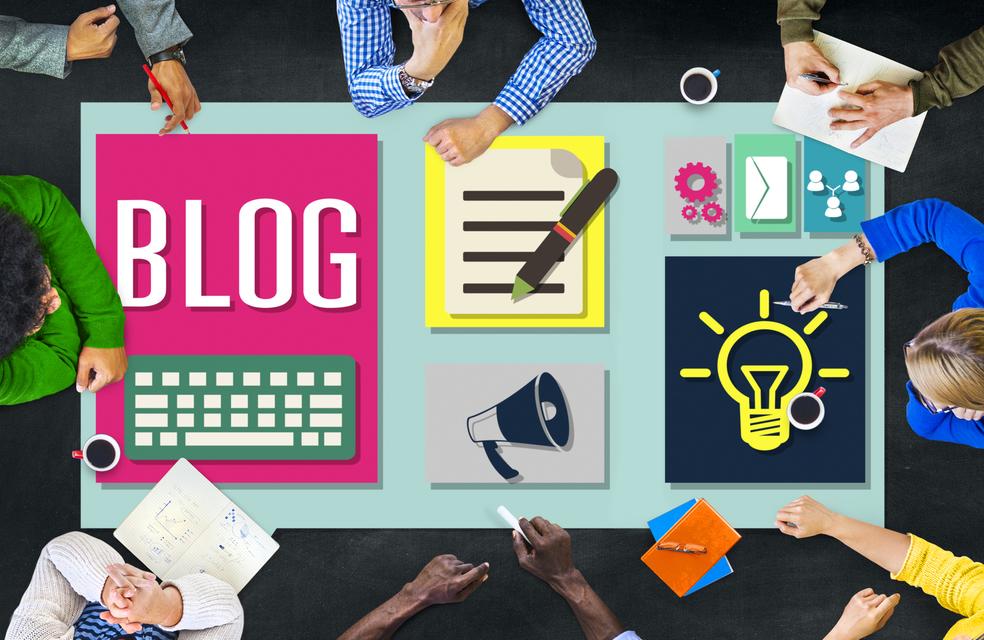 Блог на сайте компании